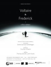 Voltaire & Frederick: A Life in Letters Poster