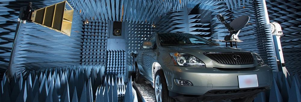 ERL Lab: Far Field Chamber, Car