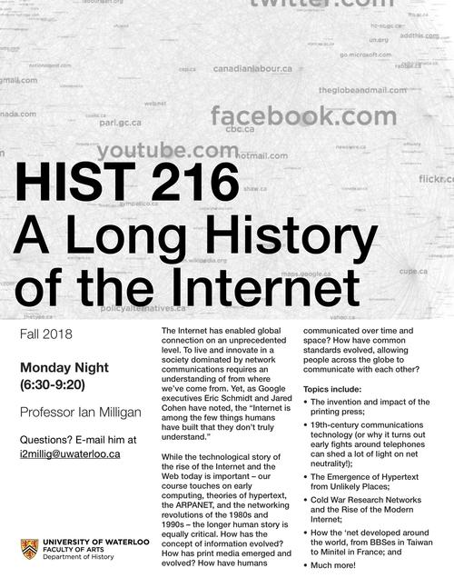 A long history of the Internet