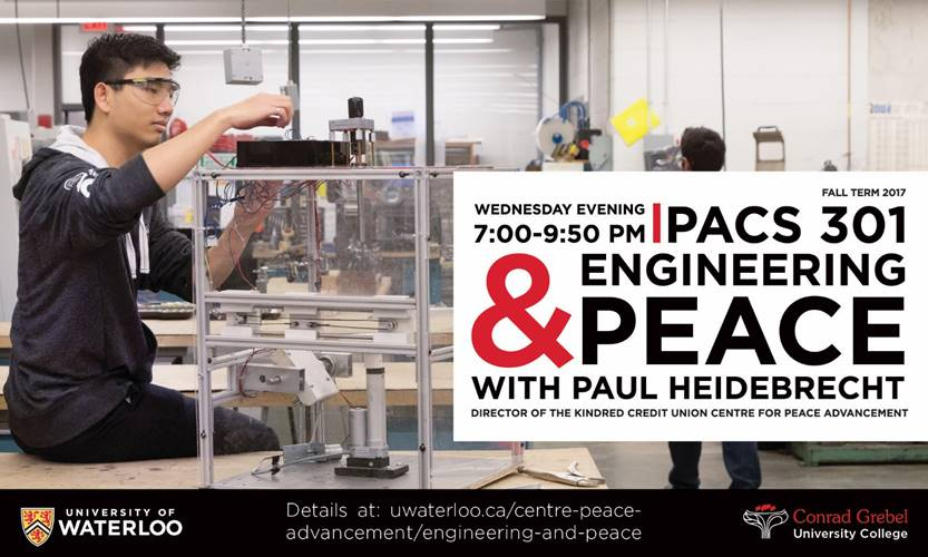 PACS: Engineering & Peace (Fall 2017)