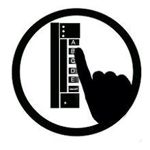 illustration of an iClicker remote