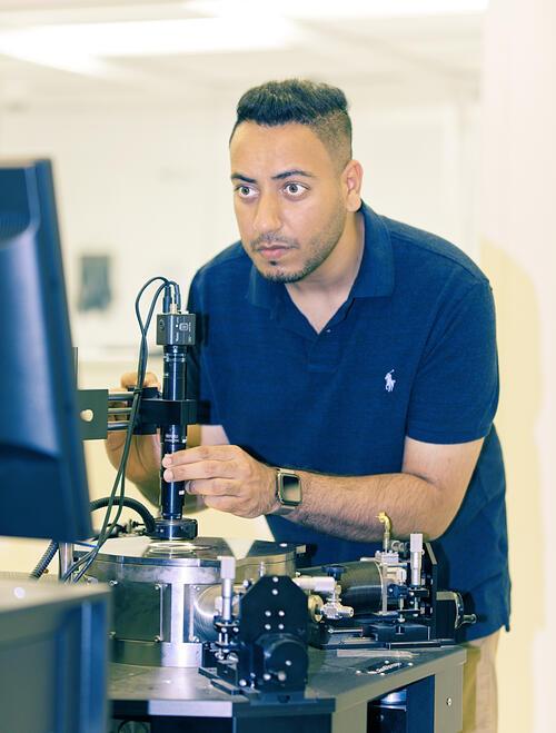 Tejinder Singh in CIRFE Lab