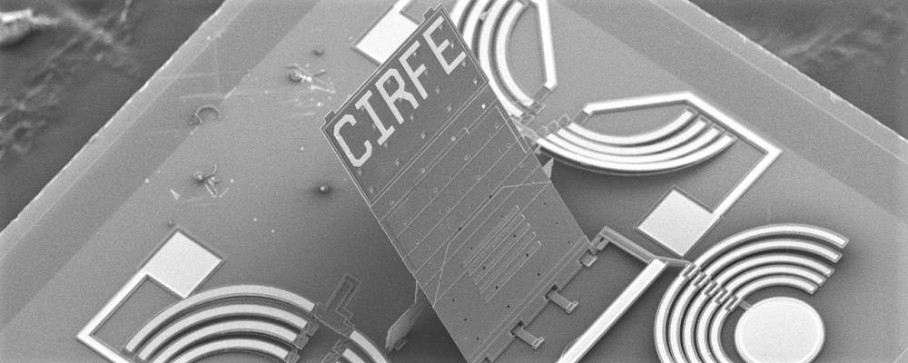 CIRFE SEM Latch Plate