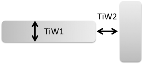 """TiW"" resistive DC bias lines"