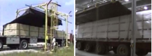 The process of using automated tarping system
