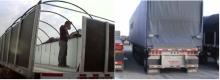 Rack and tarp kits usage for trucks