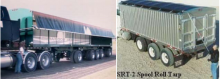 Curtain side systems and manual tarps usage on trucks