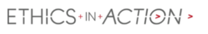 Ethics in Action logo