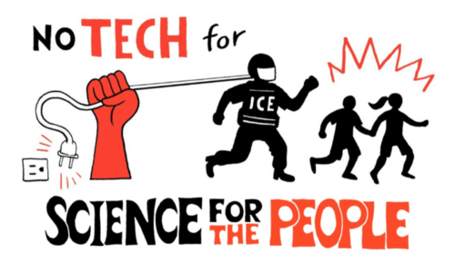 Science for the People logo and drawing