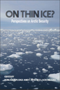 On thin ice cover page photograph of small segments of what used to be the ice shelf, floating on cold Arctic waters