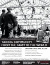 Taking Community from the Farm to the World poster