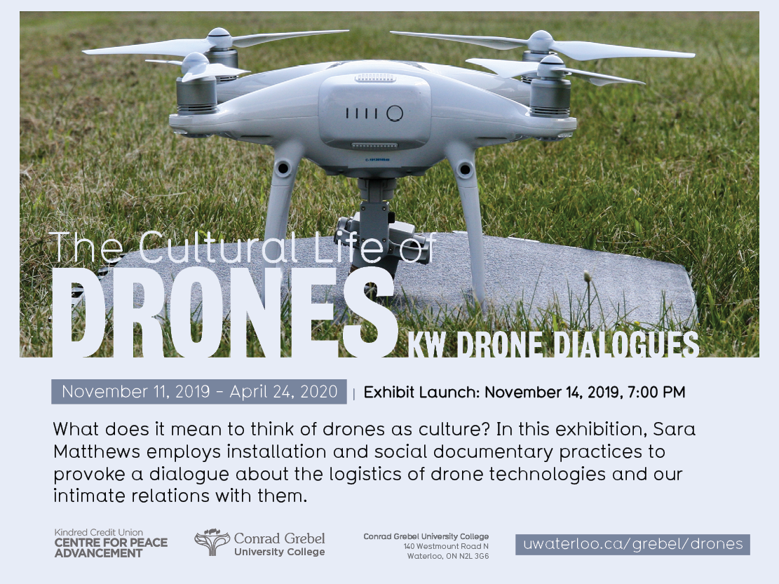 Drone Dialogues information poster