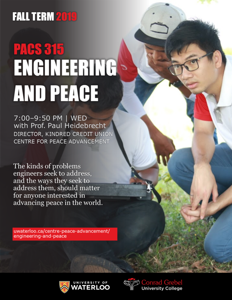 engineering and peace course