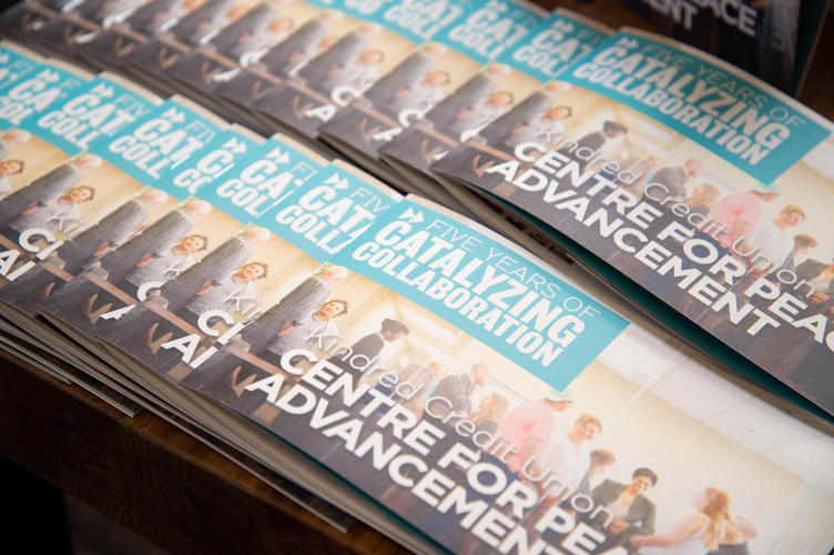Booklets for 5th anniversary celebration
