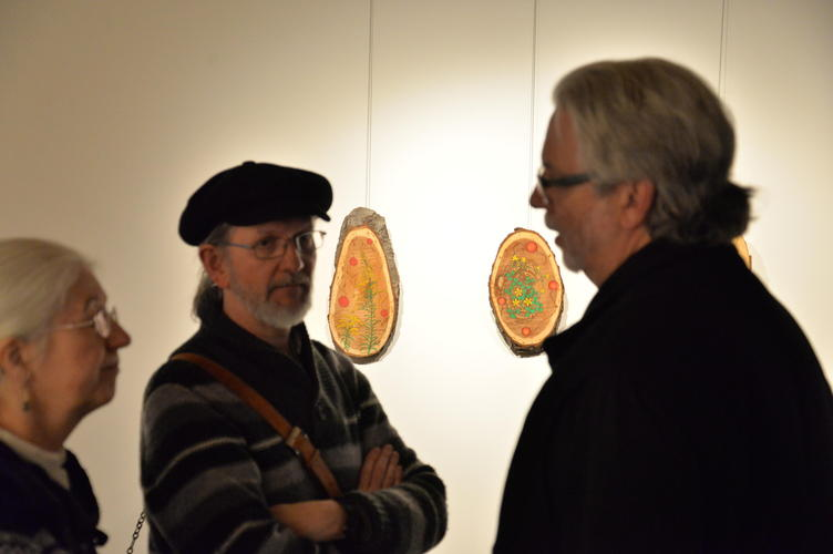 """Conversations around the pieces """"Goldenrod is Honoured"""" and """"Wood Sorrel is Honoured"""""""