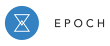 Epoch logo with link to its website