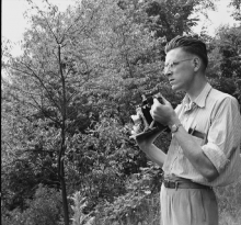 Hunsberger with his camera