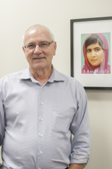 Lowell Ewert, Director of Peace and Conflict Studies at Conrad Grebel University College
