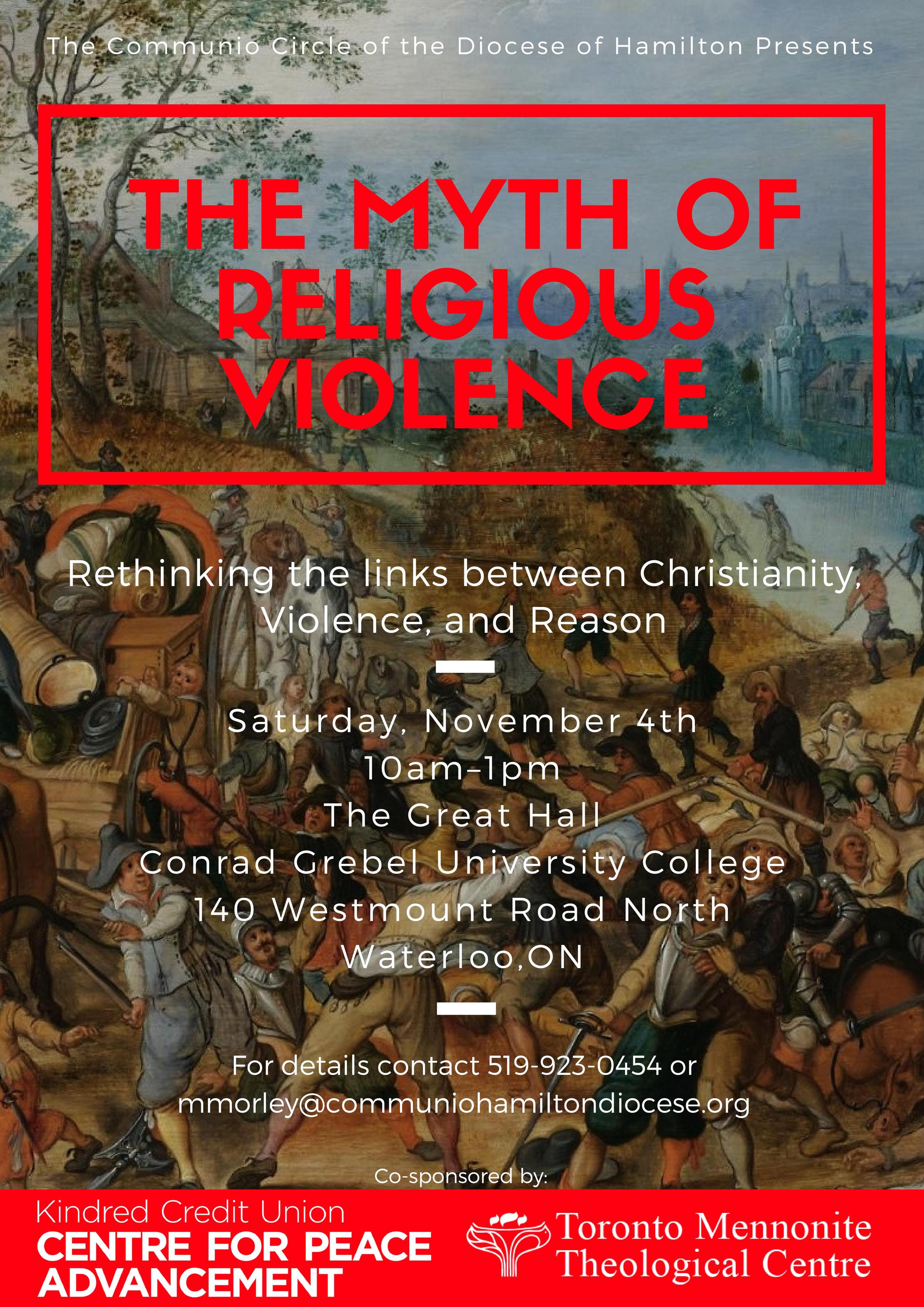 The Myth of Religious Violence publication