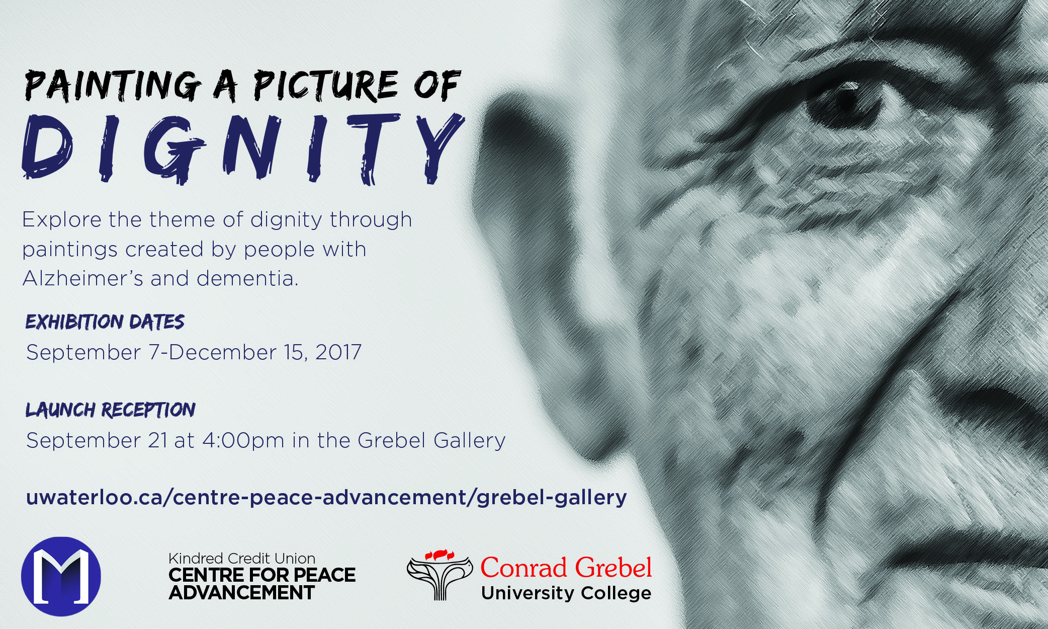 Painting a Picture of Dignity Poster