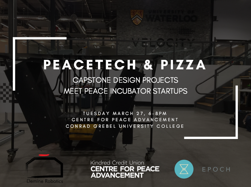 PeaceTech & Pizza poster