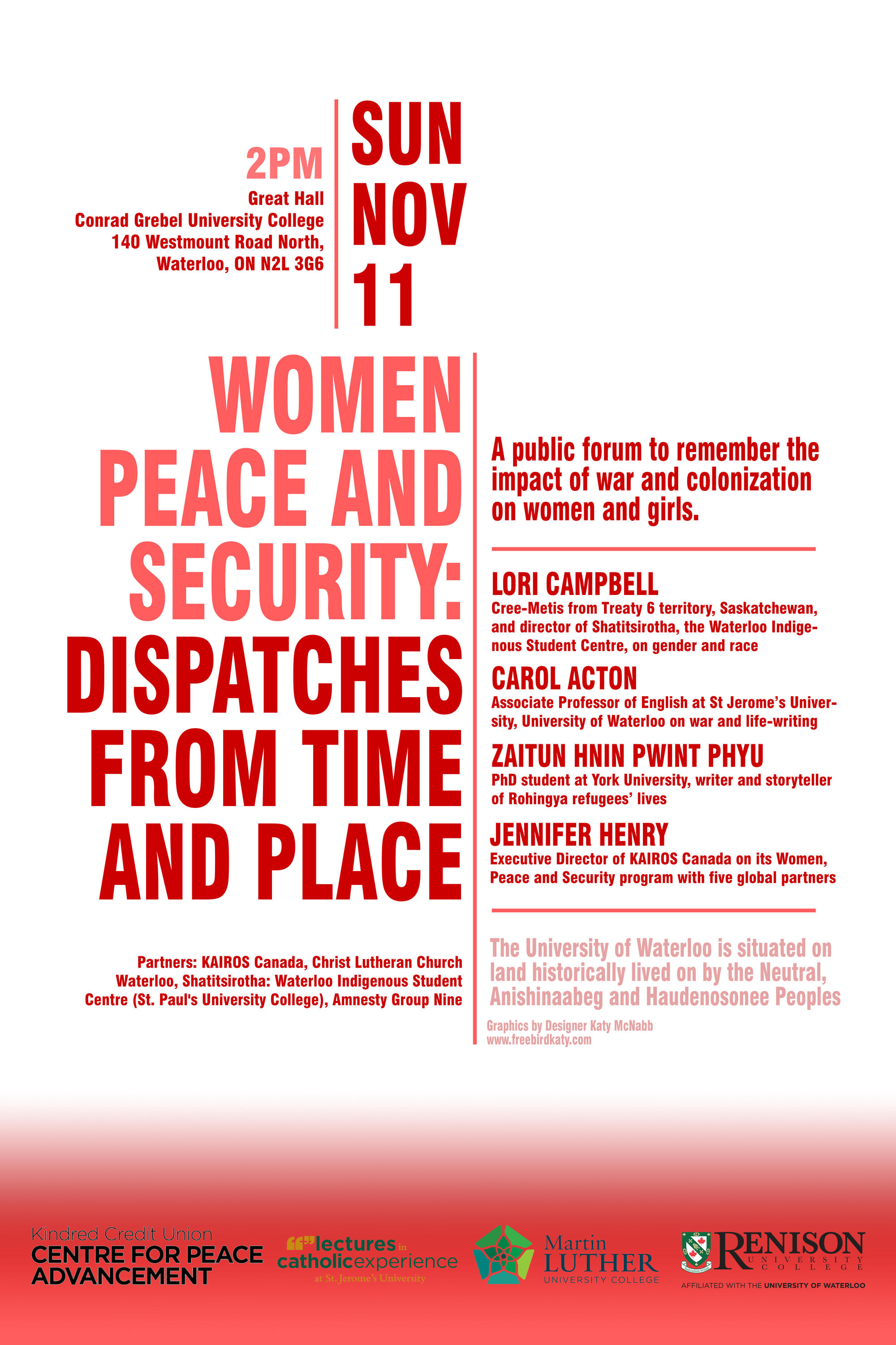 Poster for Women, Peace and Security