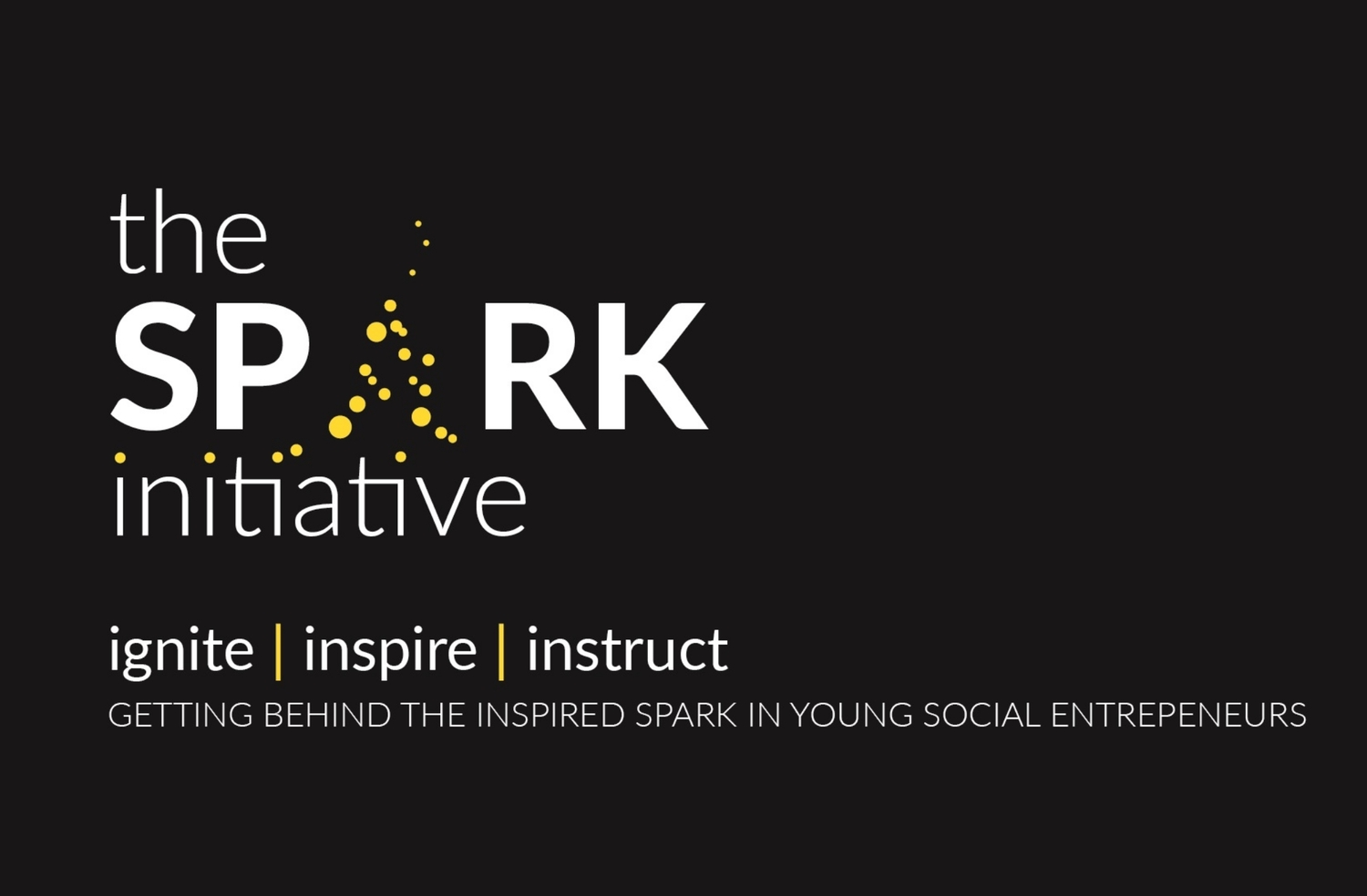 the spark initiative banner