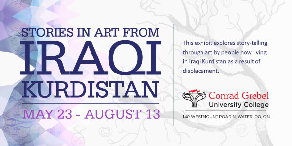 Stories in Art from Iraqi Kurdistan open from May 23 to August 13, 2016