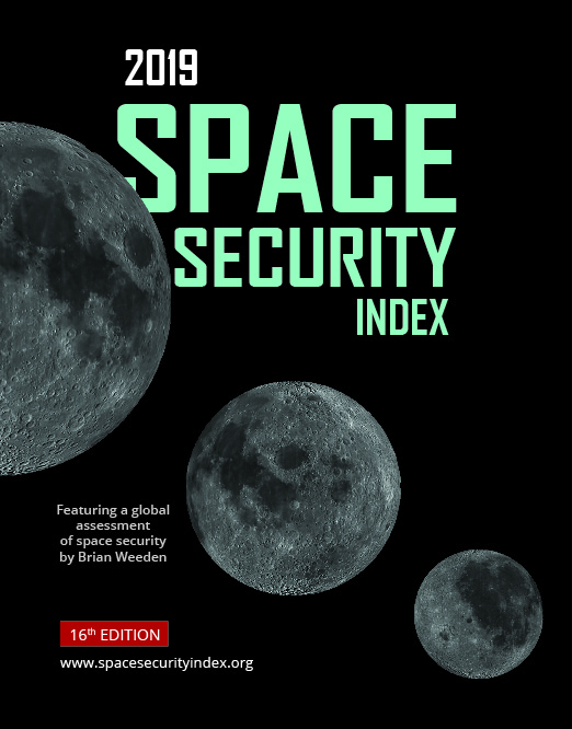Cover of the Space Security Index, 2019 Edition