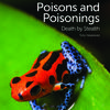 the book cover of Poisons and Poisonings with a bright orange frog on a bright green leaf