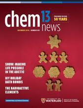 Chem 13 News December 2019 cover