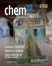 Dec 2018 / Jan 2019 front cover of Chem 13 News