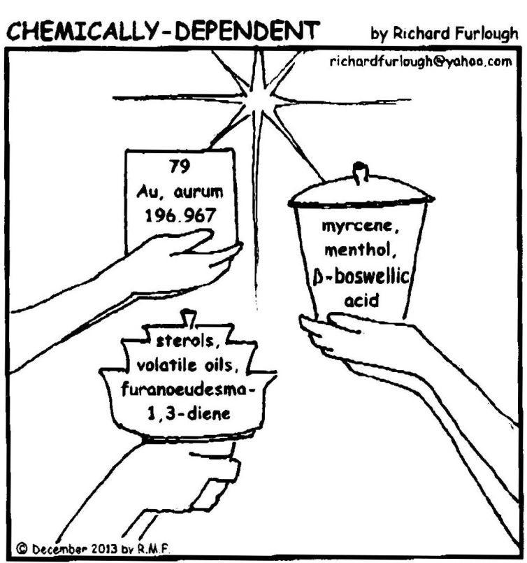 Organic Molecules Of Everyday Life 11 Frankincense And Myrrh