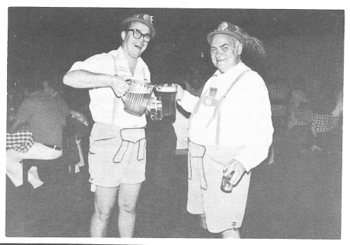Oktoberfest fun in 1975