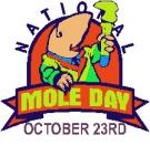 Mole day icon