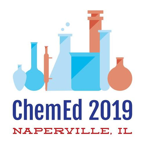 conference logo for ChemEd 2019