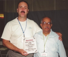 Richard Furlough with Irwin Talesnick award ChemEd 99