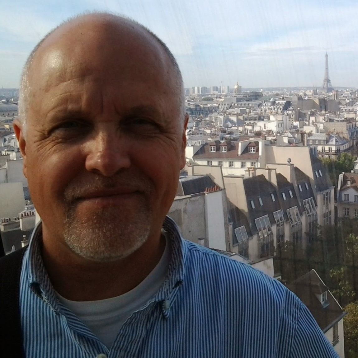 Ralph Dickhout, on holidays in Paris, France.