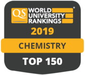 QS World University Rankings 2019 in Chemistry - top 150.