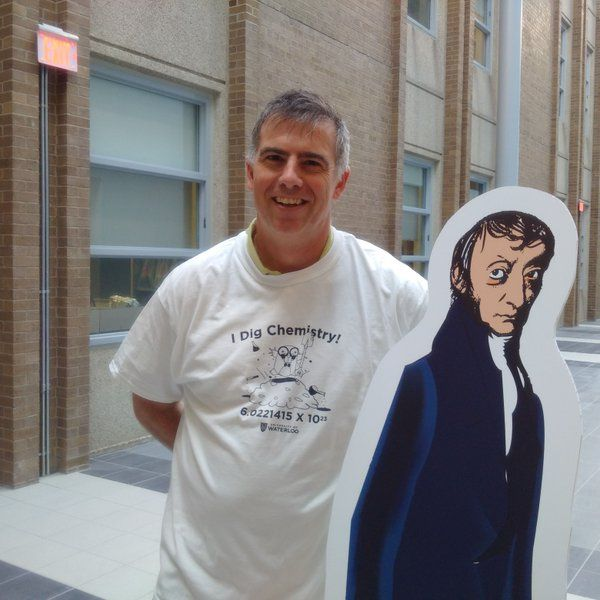 Photo of Bill Power and Avogadro