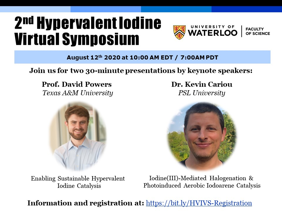 2nd Hypervalent Iodine Virtual Symposium