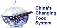 China's Changing Food System with an image of a rice bowl