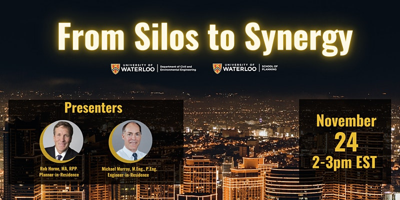From Silos to Synergy, Presenters: Rob Horne, Michael Murray