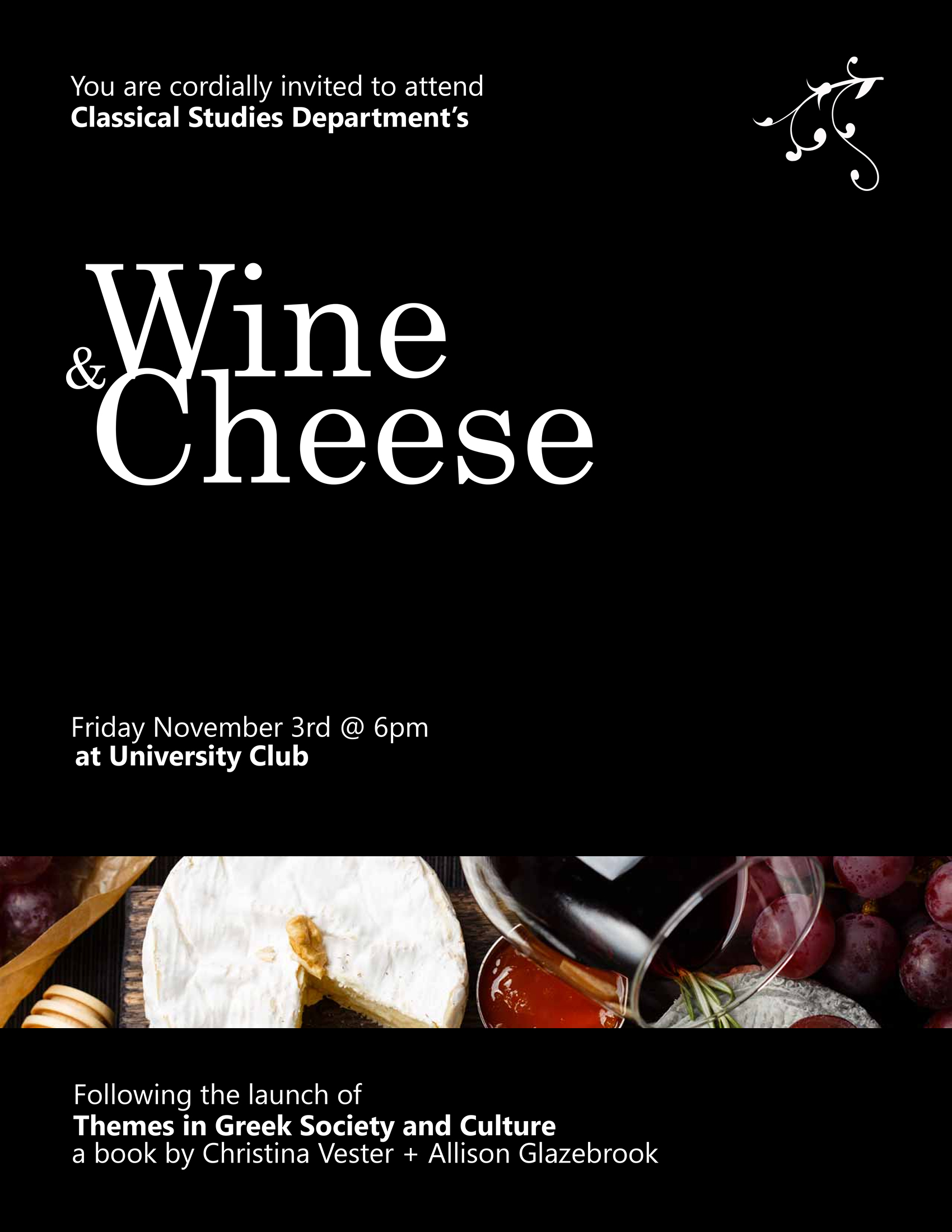 Wine and Cheese 2017
