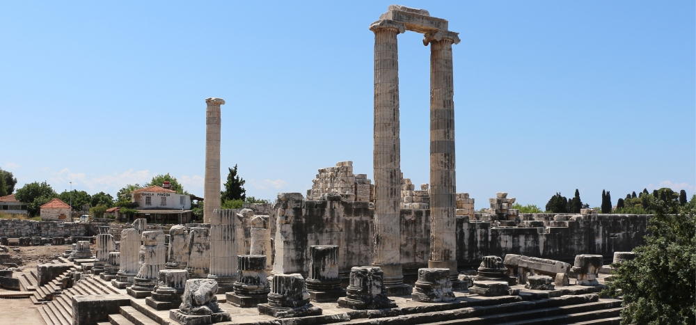 The Temple of Apollo at Didyma