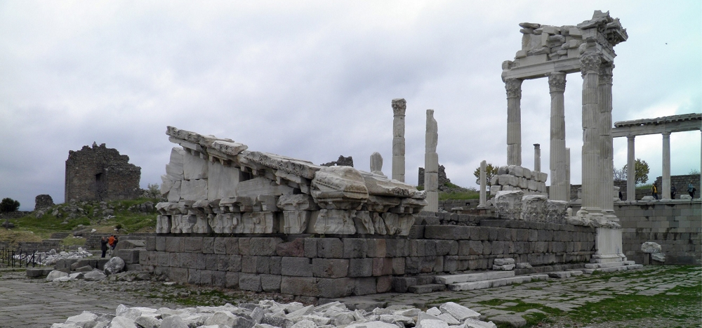 The Trajaneum at Pergamon