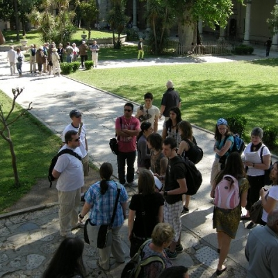 10. Waterloo students in the grounds of the Topkapi Palace, Istanbul