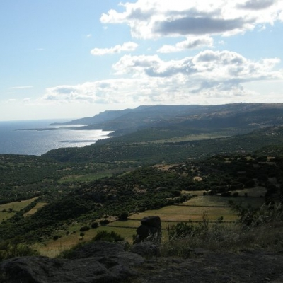 22. The Aegean Sea from the heights of Assos