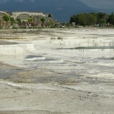 33. The pools of Pamukkale