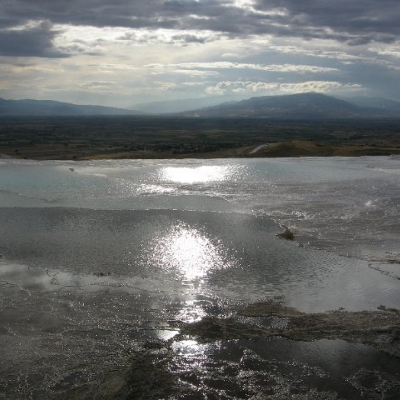 34. Sunshine on the waters of Pamukkale